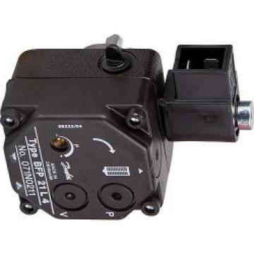 Pompe DANFOSS BFP 21 R3 071N0171 avec électrovanne pompe de chaudière fioul