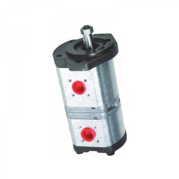 12V Pompe hydraulique Double Effet Réservoir en Fer 4/6/8/10/15L Remorque Auto #1 image