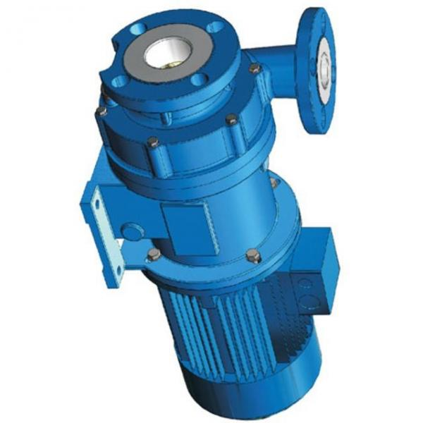 12V Pompe Hydraulique 7L Cylindre Hydraulique Simple effet 2000W avec Serrure #1 image