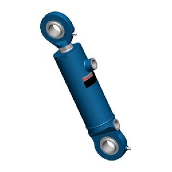 BOSCH REXROTH cylindre profilé 50x125mm pneumatique air double effet actionneur #2 image