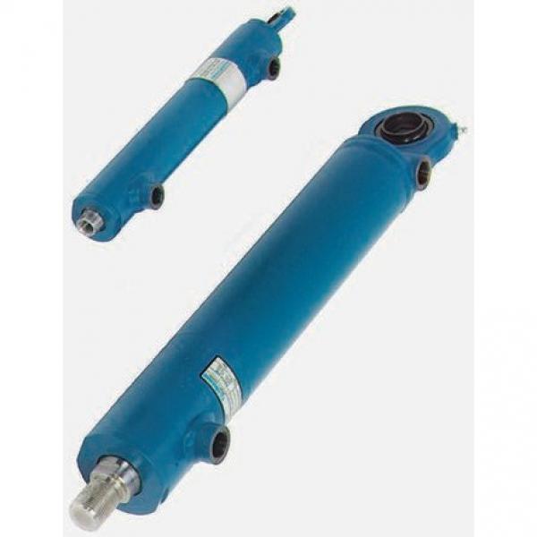 BOSCH REXROTH cylindre profilé 50x125mm pneumatique air double effet actionneur #3 image