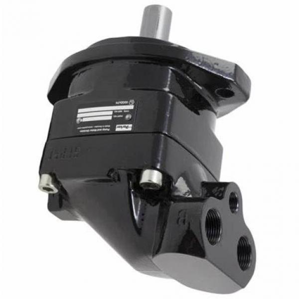 Véritable Parker / Jcb Pompe Hydraulique avec Gear 20/906100 Fabriqué en Eu #1 image