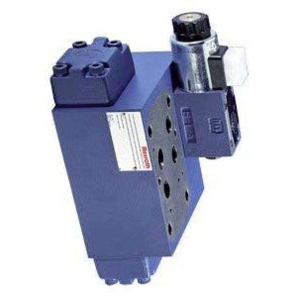 Distributeur hydraulique électrovanne 2/2 NO valve 2 voies à clapet 40L 24DC 1/4 #3 image
