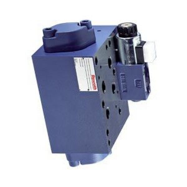 Distributeur hydraulique électrovanne 2/2 NO valve 2 voies à clapet 40L 24DC 1/4 #1 image