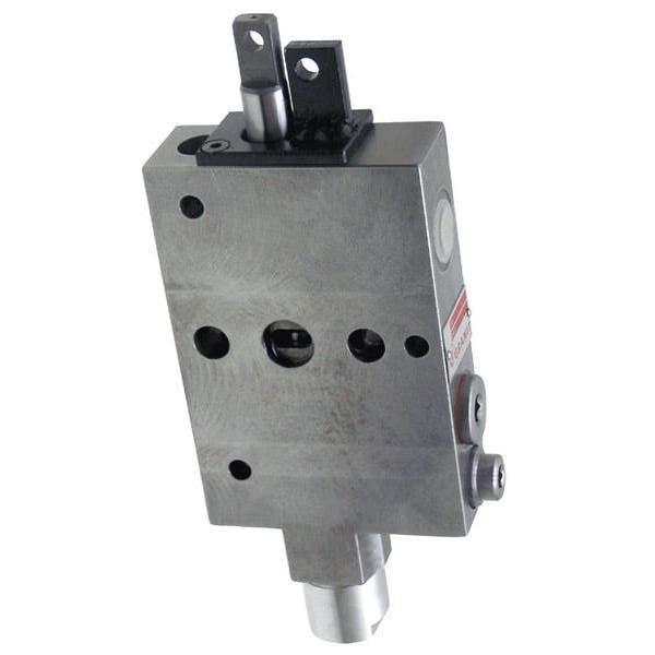 Distributeur hydraulique vanne 3 voies déviateur 3 voies  hydraulique 3/8 60L #2 image