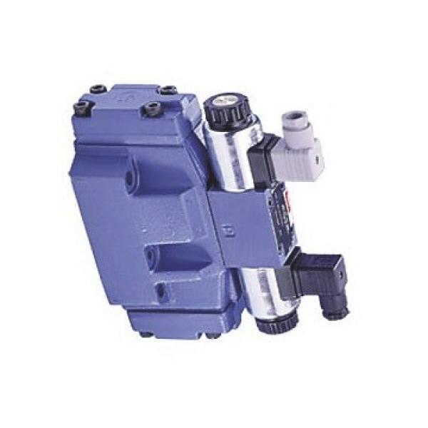 Distributeur hydraulique électrovanne 2/2 NO valve 2 voies à clapet 40L 24DC 1/4 #2 image