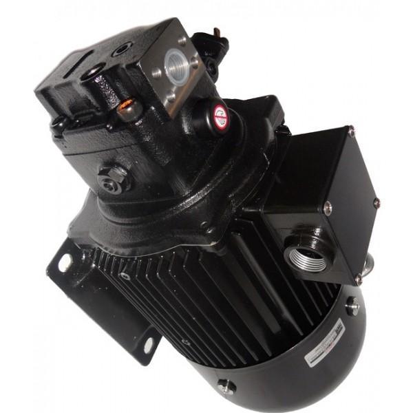 Flowfit 12V DC D/Acting D/Solenoid Hydraulic Power Pack 4.5L & Hand pump ZZ00513 #1 image