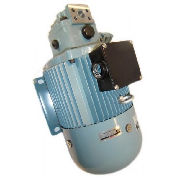 Flowfit 12V DC D/Acting D/Solenoid Hydraulic Power Pack 4.5L & Hand pump ZZ00513 #3 image