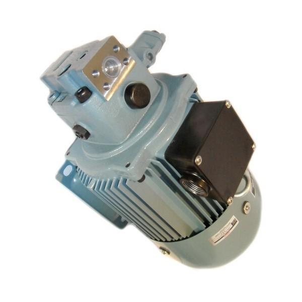 Flowfit 12V DC D/Acting D/Solenoid Hydraulic Power Pack 4.5L & Hand pump ZZ00513 #2 image